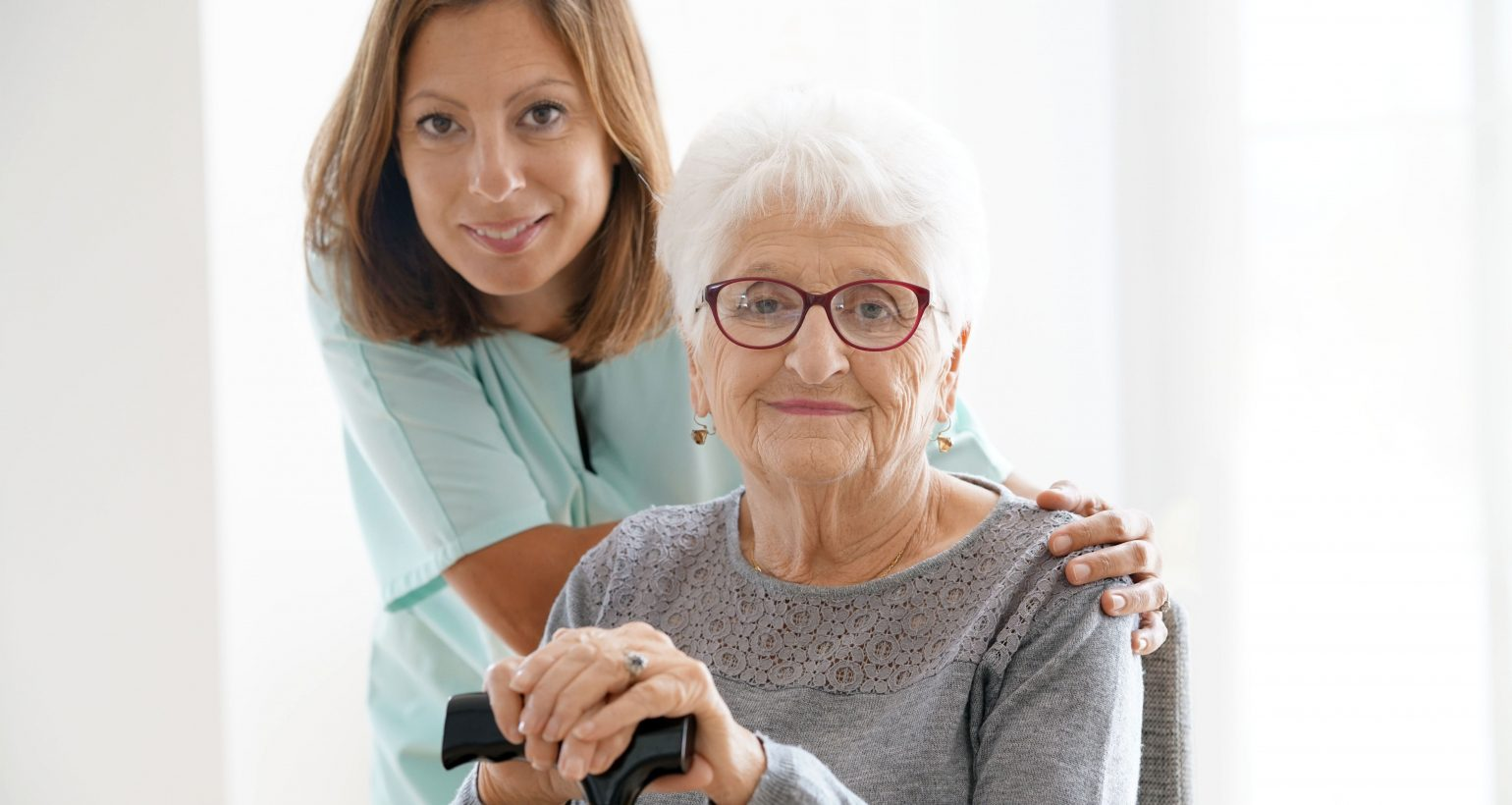 caregiving services, in home care